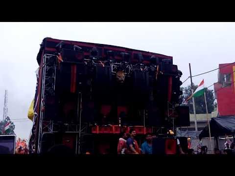amar-dj-meerut-34-bass-red-colour-pani-ki-botal-ke-sath-competition-kawad-mela-dance-nice-soundtrac