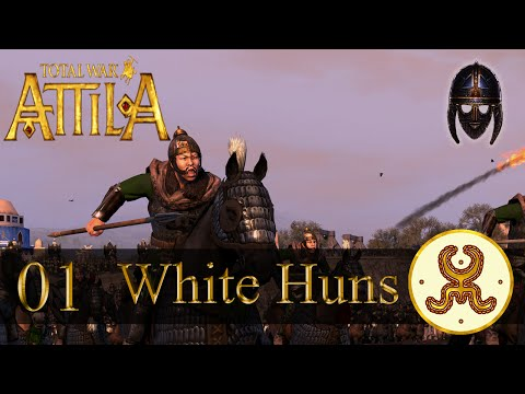 Total War Attila :: White Huns : Part 1 A Shaky Start