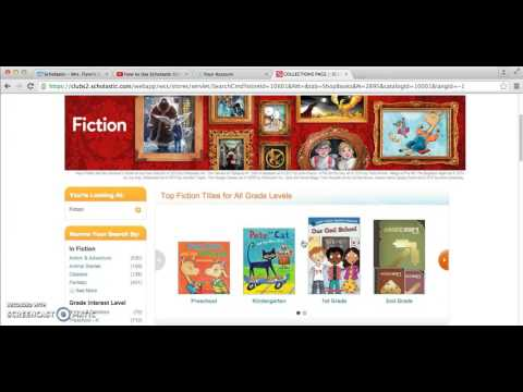 How to Order Scholastic Books Online