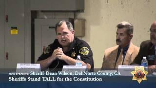 Sheriff Dean Wilson, Del Norte County CA