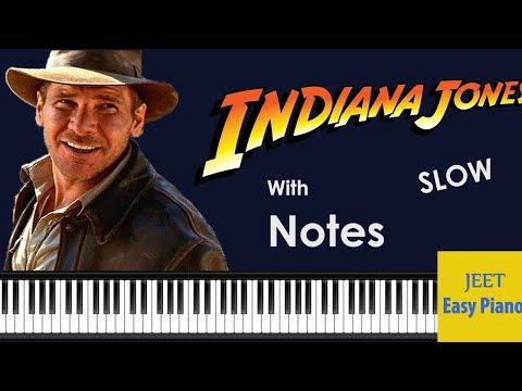 Piano Songs for beginners Indiana Jones