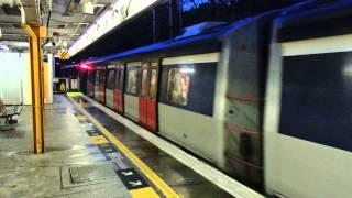 東鉄線メトロキャメル電車 火炭駅到着 Hong Kong MTR Metro Cammell EMU