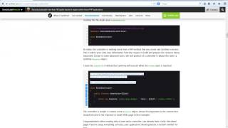 Create your pages in Symfony2