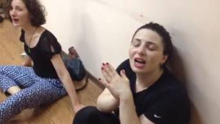 Фрагмент тренинга в Тбилиси 2016