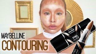 メイベリンデュオスティックでコントゥアリング MAYBELLYNE DUO STICK  Contouring Makeup
