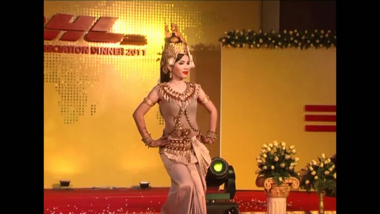 Apsara khmer Dance| របាំជូនពរ | Blessing Dance | Appsara ...