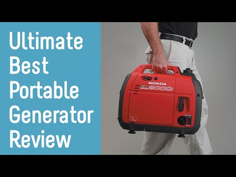Best Portable Generators 2019 - Buyer's Guide