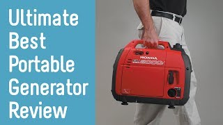 Best Portable Generators 2019 - Buyer's Guide