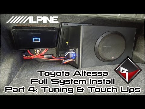 Toyota Altezza Full System Install Part 4/4: Its ALIVE!!