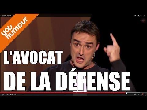XAVIER CHAVARI, L'avocat de la défense