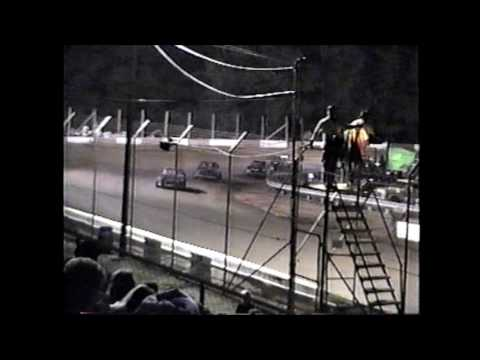 County Line Raceway Modified 4 Cylinder Feature 6-3-95