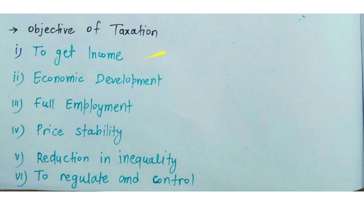 Taxation System,canons of Taxation, taxable capacity in hindi