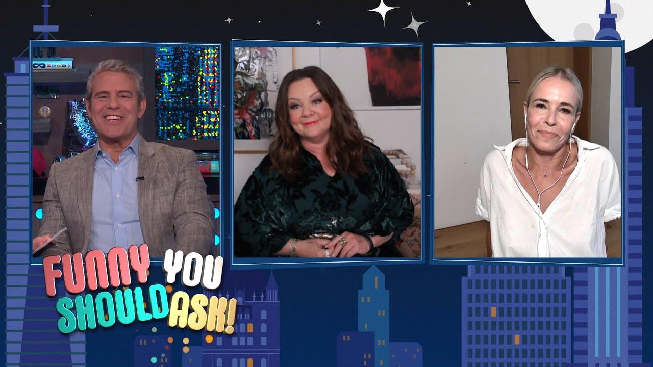 Chelsea Handler & Melissa McCarthy Talk Comedy