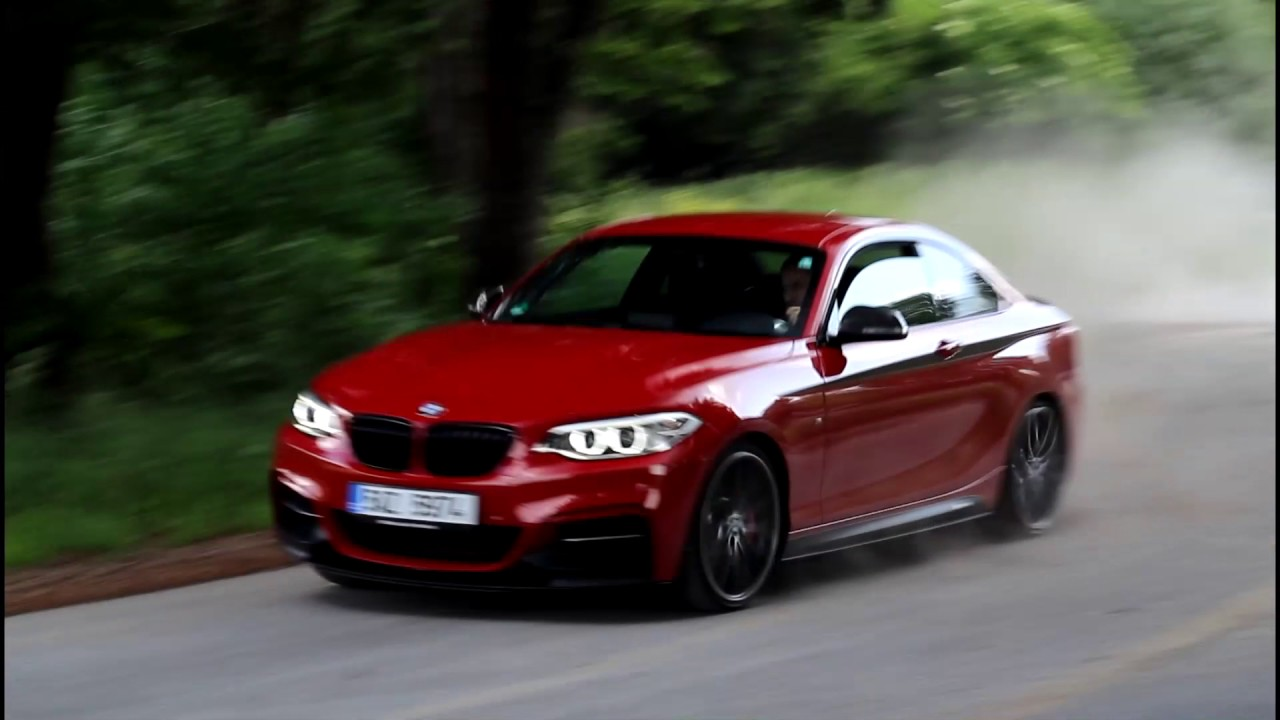 Bmw M240i M Performance Pure Sound And Drifting Youtube