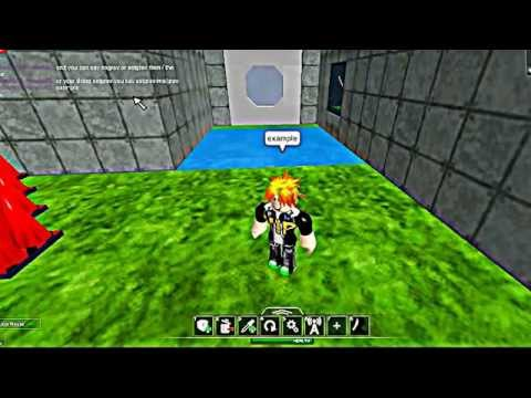 how to make admin commands on roblox