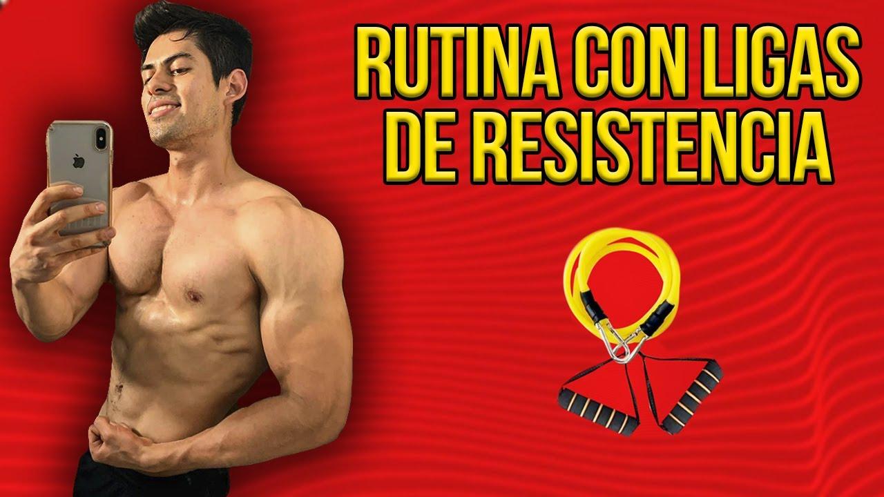 RUTINA COMPLETA CON LIGAS DE RESISTENCIA / EXPLICADA A DETALLE