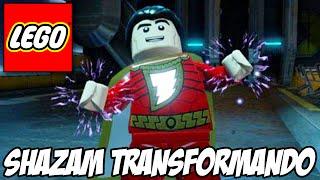 Lego Batman 3 - Shazam transformando e personagens disfarçados