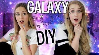 GALAXY IN A JAR DIY - funktioniert das? Tumblr Galaxy im Glas getestet mit Maren Vivien - 2017 DIY