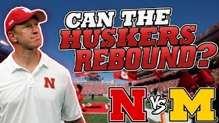 NEBRASKA VS MICHIGAN PREDICTION MARTINEZ READY?! TROY REACTION 2018 SCOTT FROST DISAPPOINTING?