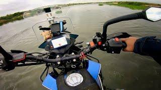 Almost Drowned my KTM 390 Adventure  😱