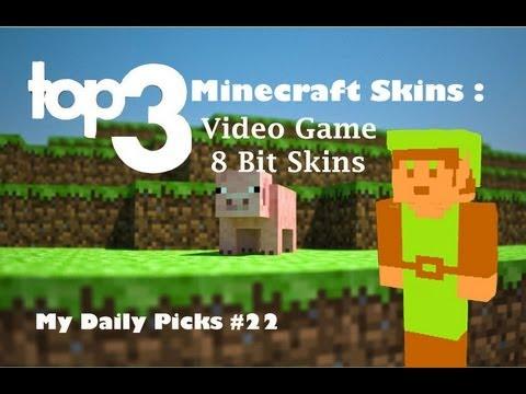 Minecraft Skins Top 3 Video Game Minecraft Skins 8 Bit Epic