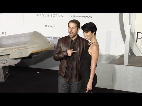 "Ian Hecox and Pamela Horton ""Passengers"" World Premiere Black Carpet"