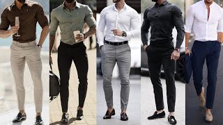 Latest Men's Formal Shirt Pant Fashion 2019 | Best Formal Style 2019