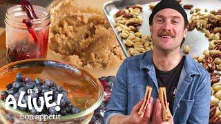 Brad Makes Fermented Peanut Butter & Jelly | It's Alive | Bon Appétit