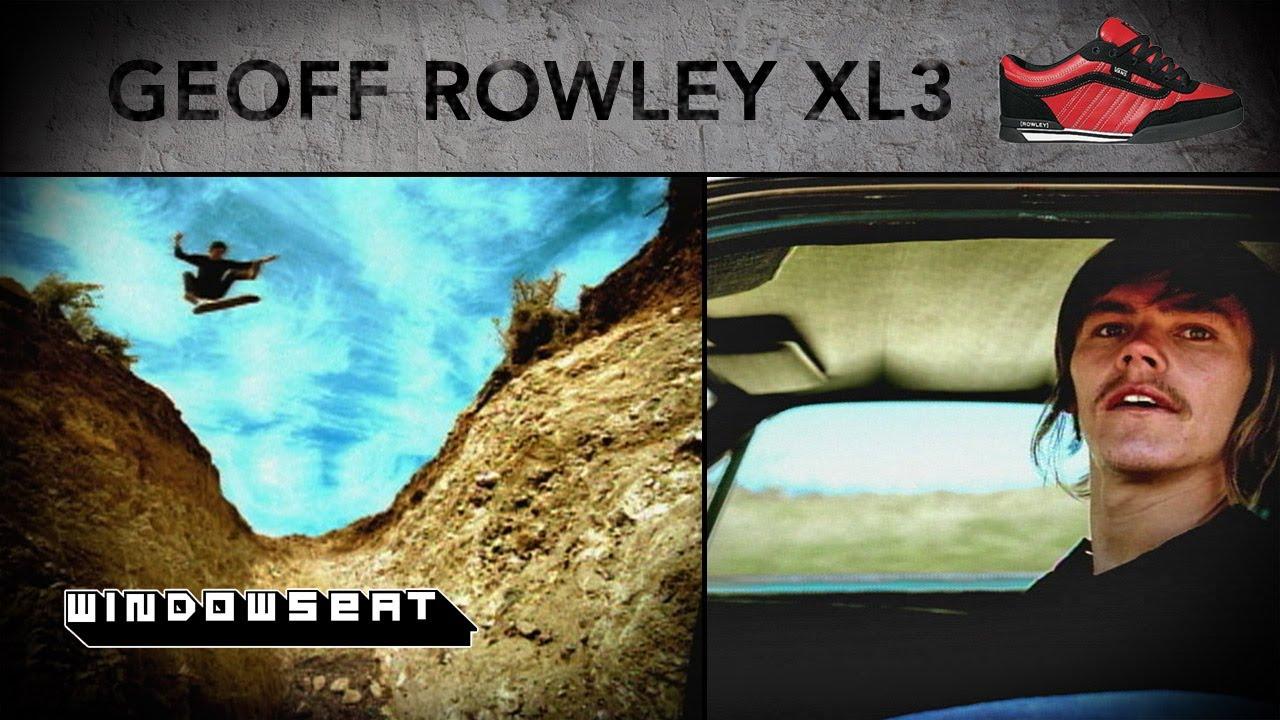 868713e4ba Geoff Rowley Vans XL3 Commercial - YouTube