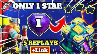 Only 1 Star Th14 Legend League Base +6 Defense Replay + Proof Link Th14 Pushing Base June 2021 #1