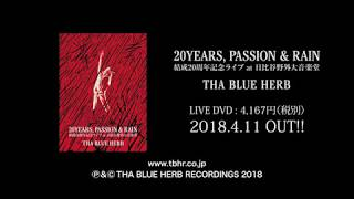 20YEARS, PASSION & RAIN / THA BLUE HERB 16-17