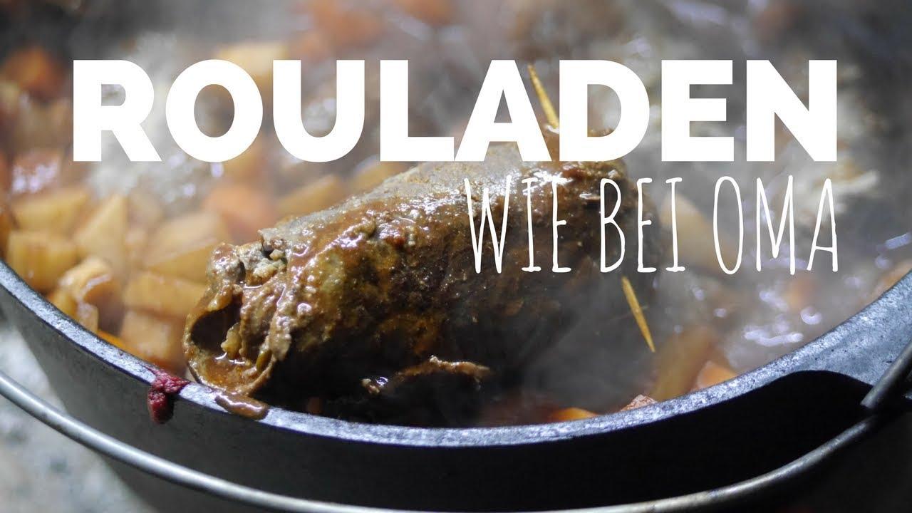 Rouladen wie bei Oma   Dutch Oven Rezept für die kalte Jahreszeit