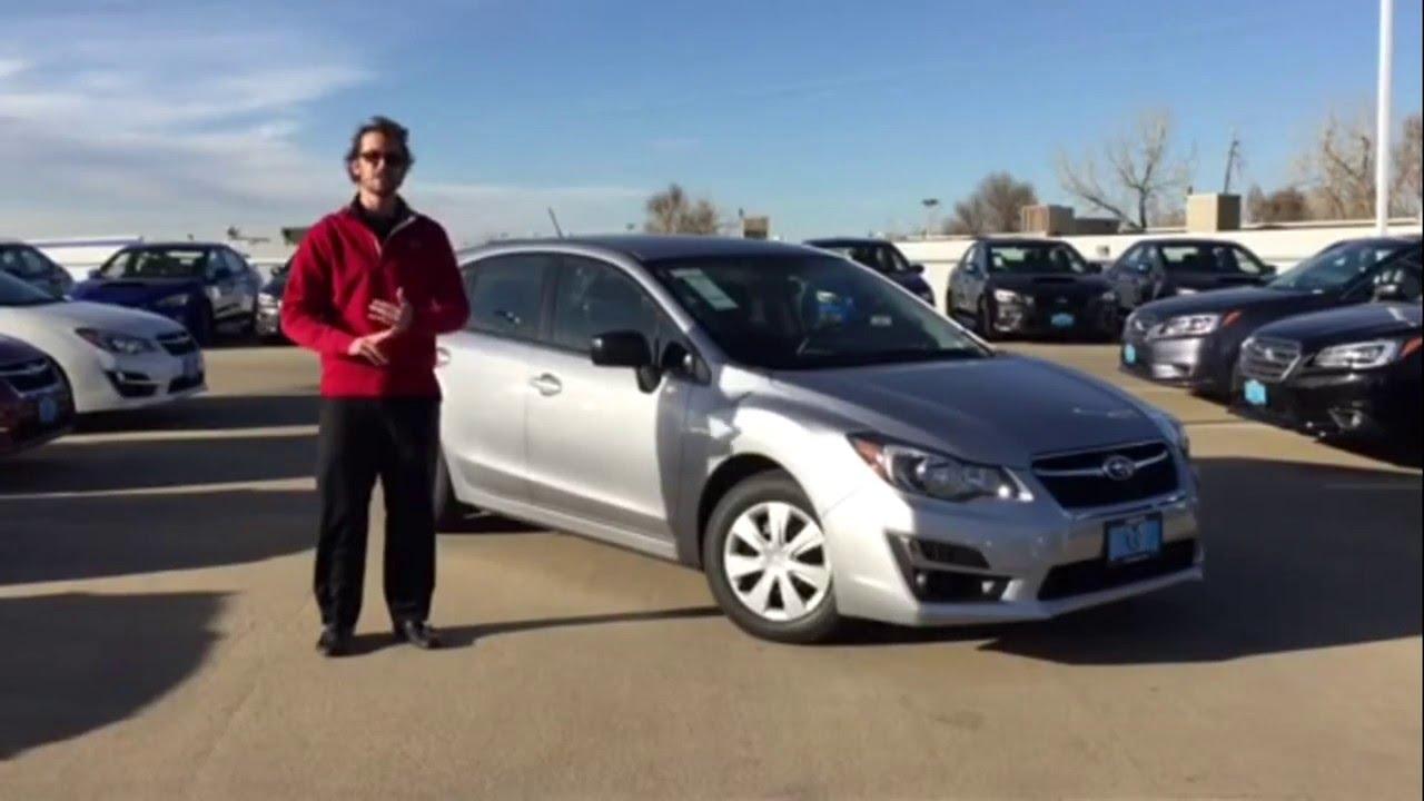 2016 Subaru Impreza 5d 149 Mo Lease Special March 16 Groove Denver You