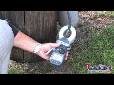 The Megger DET14C and DET24C Clamp On Meters