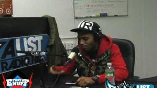 DJ Enuff-Kid Cudi Asher Roth Freestyle on ALISTRADIO.NET Part 1