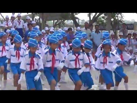 Trường Tiểu học Phú Cần A - Thi Nghi Thức Đội Cấp Huyện Part 4