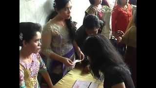 Pesta adat Batak Saut Tampubolon & Monalisa SiLitonga Part 2