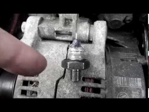 фольксваген транспортер где находится датчик давления масла