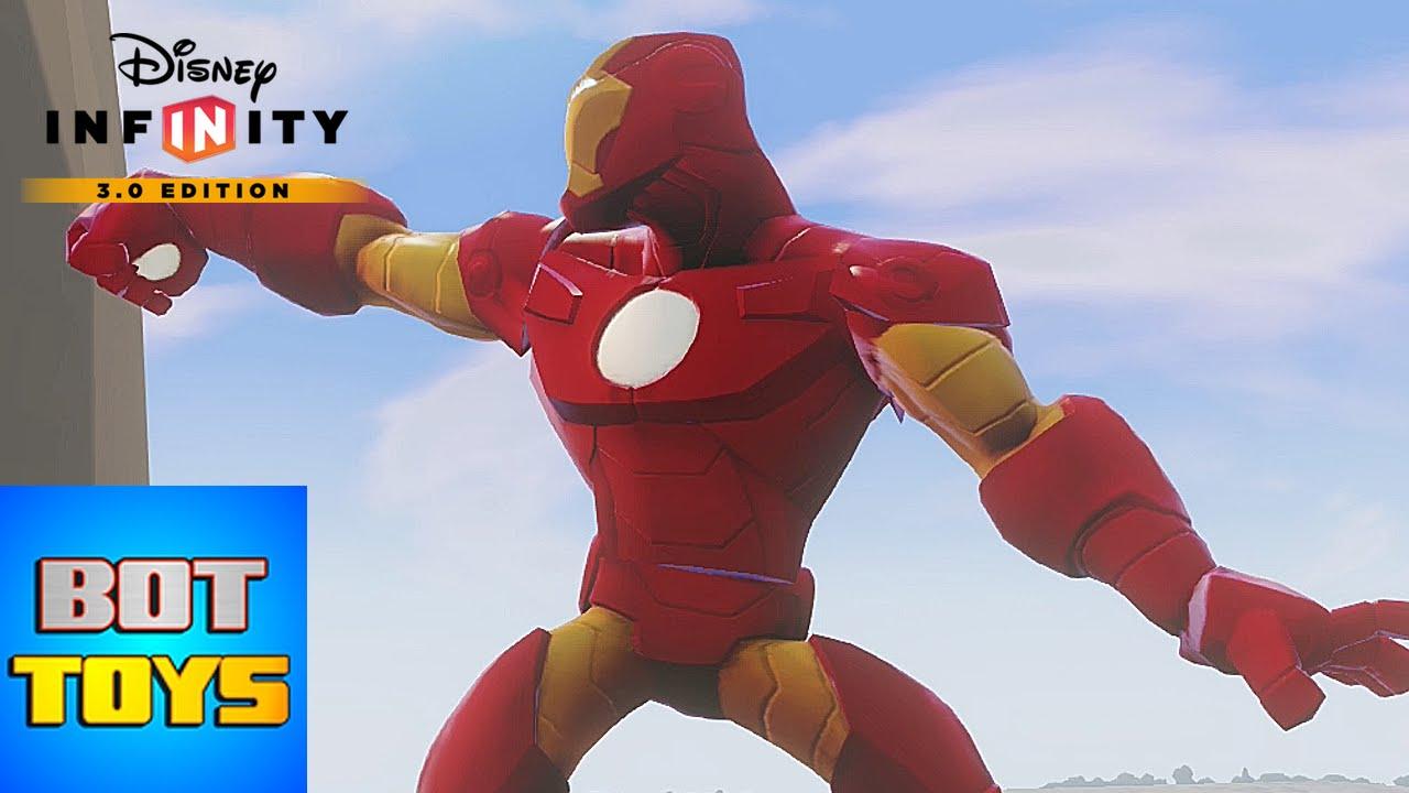 Iron Man de los Dibujos Animados de Los Vengadores  GAMEPLAY en
