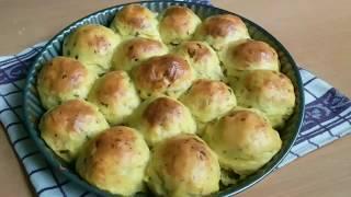 Мясные тефтели в картофельной шубке    Meat balls in potatoes