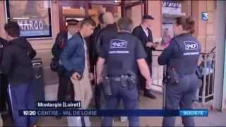 La police fait la chasse aux stupéfiants en gare de Montargis