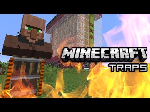 Minecraft: Pitfalls, Wither Traps & More w/ One Command Block