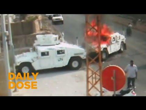 Video Shows Hezbollah Associates Attacking UN Peacekeepers