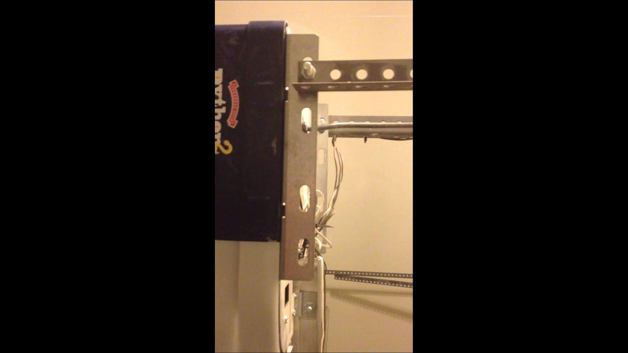 Garage door opener short circuited - YouTube