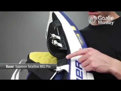 Bauer Supreme Totalone Nxg Pro Goalie Leg Pads Youtube
