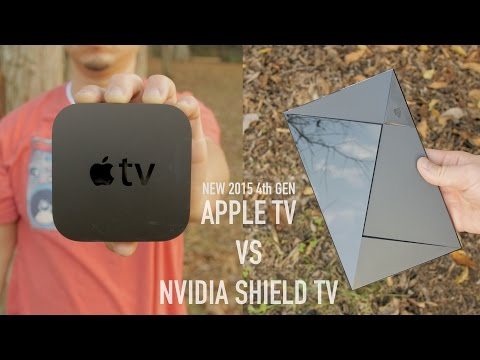 New Apple TV (4th Gen) vs NVIDIA Shield TV Ultimate Comparison!