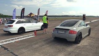 1000HP Audi TT R30 Turbo vs Audi RS6 C7 Avant
