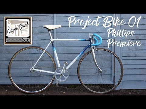 Project Bike 01 Phillips Premiere | Fixed Gear Build