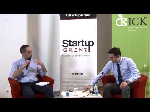 Startup Grind Pristina Event 6 presented Lumir Abdixhiku (Riinvest Institute)