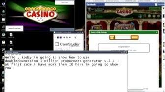 Double Down Casino Promocode key generator